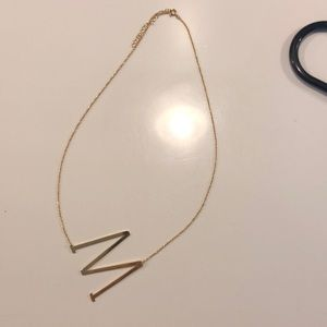 Jewelry - M necklace